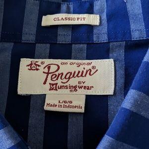 Original Penguin Shirts - Original Penguin Button-Down Shirt Size L